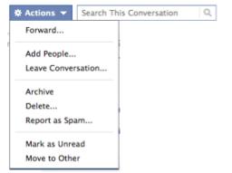 pretraživanje poruka