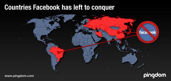 Facebook rasprostranjenost